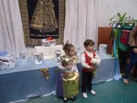 Ofrenda de flores a la Virgen de los Desamparados