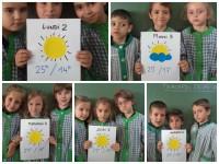 Previsión meteorológica para la semana Comenius