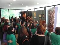 Visita al Museo de Ciencias Naturales, Feria del Libro y Taller de grabados