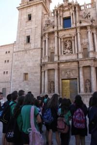 Visita a instituciones valencianas.