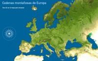 Cadenas montañosas de Europa