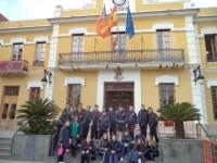 Visita al Ayuntamiento de Burjasot