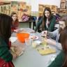 Intercambio con escuela de Polonia. Monas de Pascua.