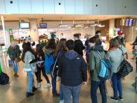 Visita de alumnos de Varsovia: la despedida