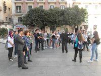 Visita de alumnos de Varsovia 2.017: Diputación, centro de Valencia y Mascletà