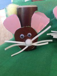 Reciclamos haciendo un conejo de Pascua