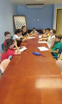Reunión preparatoria para el último Pleno Infantil