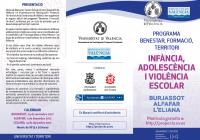 Jornadas sobre la Infancia, Adolescencia y Violencia Escolar