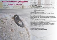 Concursos fotográfico y literario 2017/18