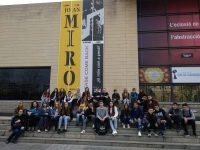 Visita de alumnos de Varsovia 2018. Visita al IVAM y a La Malvarrosa.