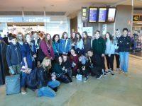 Visita de los alumnos de Varsovia 2018. Despedida.