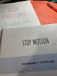 Stop motion, terminados.