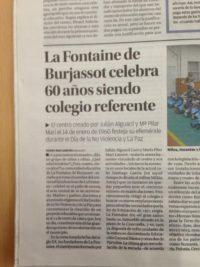"""Nuestro sesenta aniversario en el diario """" El Levante"""""""