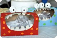 Reciclado caja de pañuelos