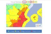 Suspendidas las clases para el viernes 13 de septiembre ante la situación de alerta roja meteorológica