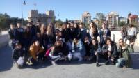 Visita de alumnos de Varsovia 2018. Centro histórico de Valencia y Mascletà.