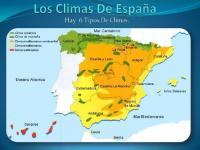 Climas de España